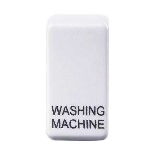 Nexus Grid Rocker, Printed Washing Machine, Brushed Steel by Meteor Electrical