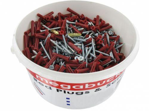 Olympic Bucket 4x40 Chipboard Screw & Plugs
