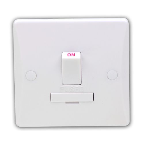 Pearl 13 Amp Fused Connection Unit Switched