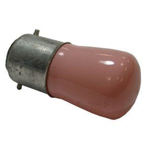 15W B22d BC 240v Pink Pygmy Lamp .