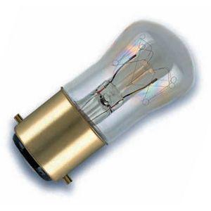 15W B22d BC 240v Clear Pygmy Lamp.