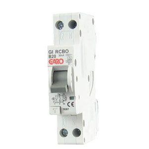 Garo 20 Amp 30mA 1 Module RCBO Type B