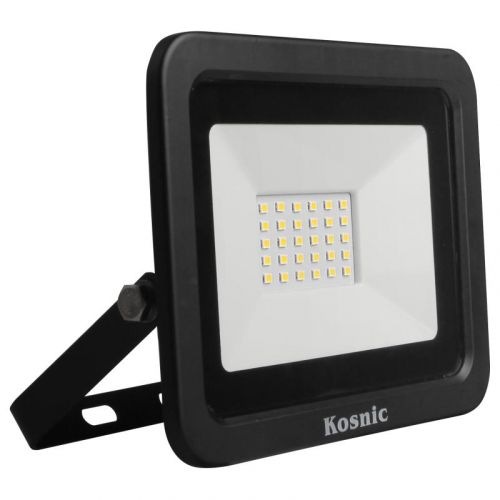Rhine 30W LED Floodlight IP65 6500K Black