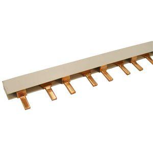 Double Pole Pin Type Busbar 57 Modular 10mm