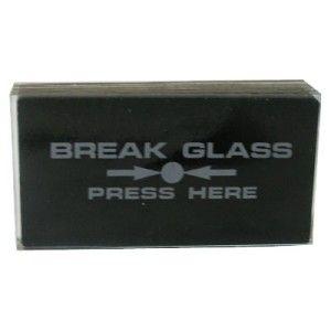 Fireline Spare Breakglass (Pack Of 10)