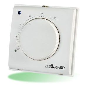 Electronic Frost Thermostat with Tamper Proof Cover