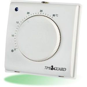 Timeguard Electronic Room Thermostat c/w Tamper Proof Cover
