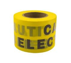 Unicrimp QUGT100X200 Underground Electrical Warning Tape 100mmx2