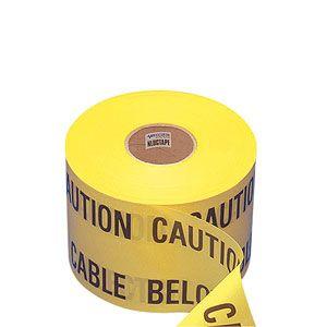 Warning Tape 150mm x 365Mtr