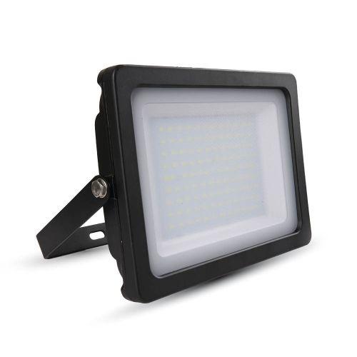 100W LED Floodlight Black Body SMD Natural White