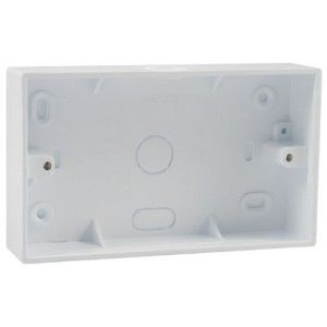 2 Gang 32mm PVC Surface Box (DST2K)