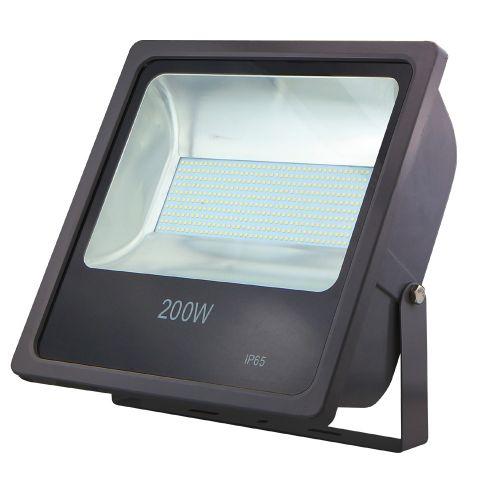 LED Flood light 200W SMD 6500K Black