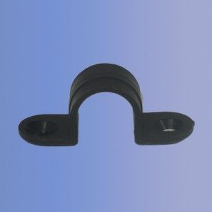 20mm PVC Black Strap Saddle