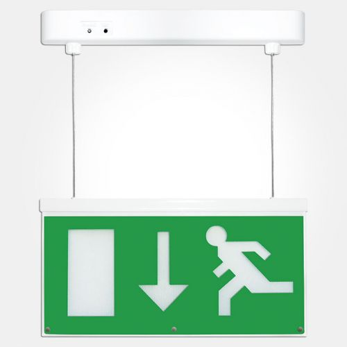 2.3 Watt LED Emergency Hanging Exit Sign Light