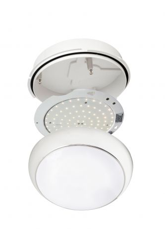 2D Golf 10W Emergency LED with Pro-Diffuser 4000K White Trim