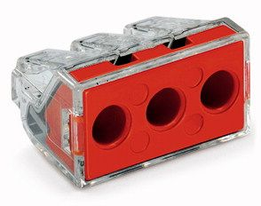 3-conductor terminal block (3x1.5-6mm 41A) 10 Pk