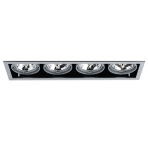 Modular Retail Downlight 4x50W Linear
