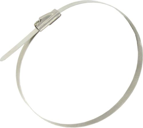 4.6 x 200mm Stainless Steel Ball Lock Cable Ties 100 Pack