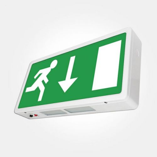 4W LED Maintained Emergency Exit Box