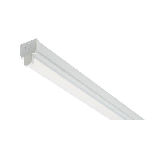 50W 5FT Niva Single LED Batten 4000K 6300 Lumens.