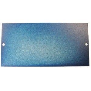 Q326 2 Gang Blank Plate