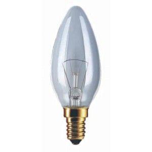 60 Watt Edison Screw (ES) Clear Candle Lamp