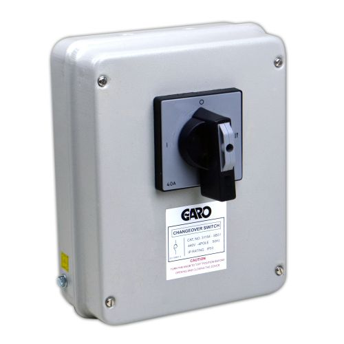 63 Amp 3 Pole & Neutral Changeover Switch IP53