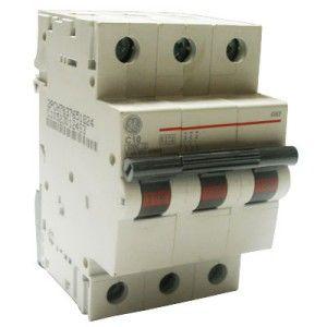 GE 10A 3P Type C 6KA MCB