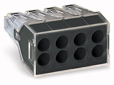 8-conductor terminal block (8x0.75-2.5mm, 24A) 10 Pk