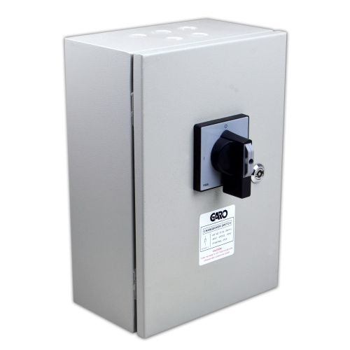 80 Amp 3 Pole & Neutral Changeover Switch IP53