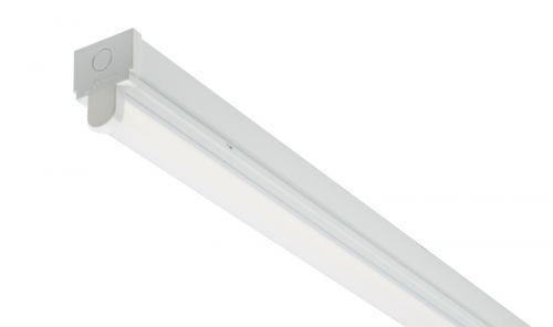 50W 5FT Niva Single LED Batten 4000K 6300 Lumens