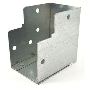 75x75mm Galvanised Trunking 90° Internal Elbow Bend