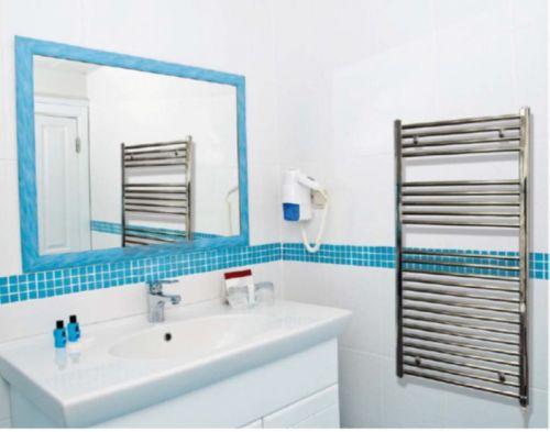 ATC Heated Towel Radiators 300W - Chrome - 800mm x 600mm