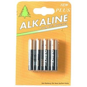 Duracell Alkaline (Repack) MN2400 Batteries AAA Pack of 4