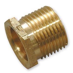 Brass Bush Male 25mm Short