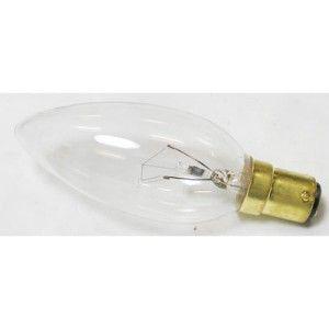 25 Watt Small Bayonet Cap (SBC) Clear Candle Lamp