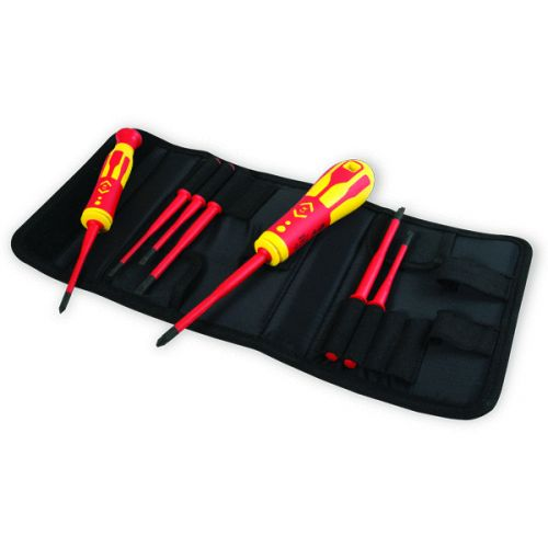 C.K VDE Insulated Screwdriver Set With Slim Interchangeable Blad
