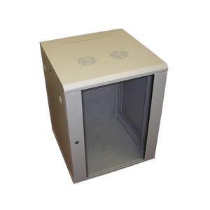 9U 450mm Deep Standard Duty Wall Rack Comms Cabinet