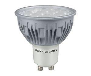 Crompton 5W GU10 LED Light Bulb 6000K