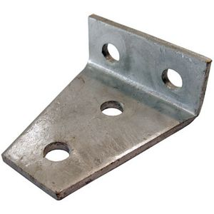 Large Delta Bracket 4 Hole 90° (106x90)