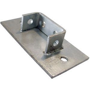4 Hole Double Channel Base Plate