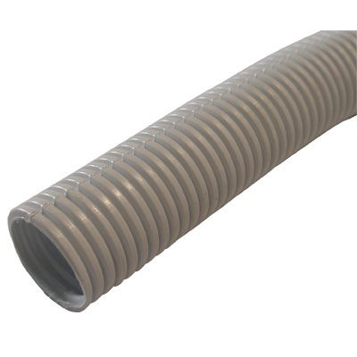 Decoduct 25mm White Flexible Conduit (DPH3)