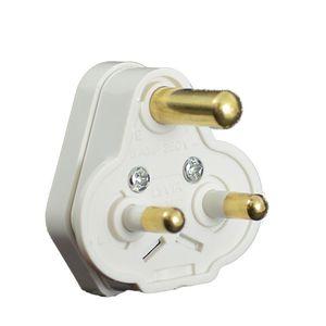 5 Amp White Plug Top