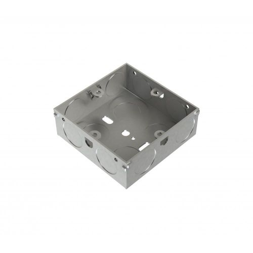 Metpro 25mm 1 Gang Flush Steel Back Box