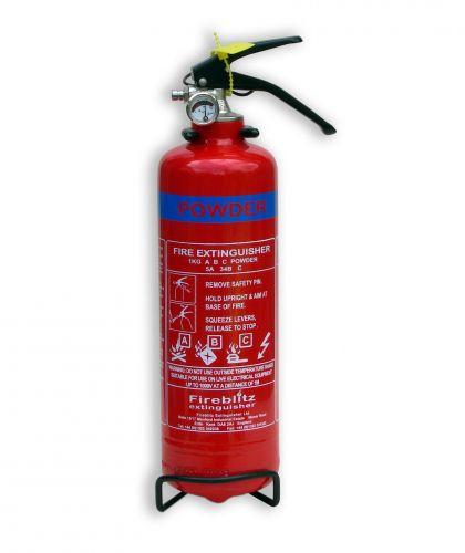 Firehawk 1kg Dry Powder ABC Fire Extinguisher