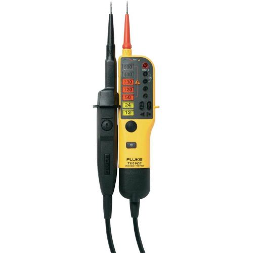 FLUKE Voltage/Continuity Tester With LCD, SW Lead