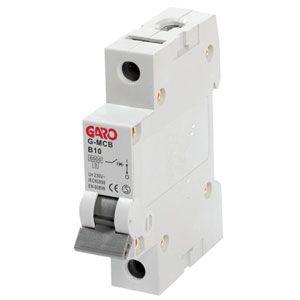 Garo 10 Amp Single Pole (Type B) MCB
