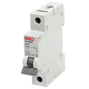 Garo 10 Amp Single Pole (Type C) MCB