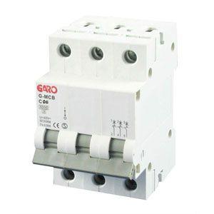 Garo 6 Amp Triple Pole (Type C) MCB