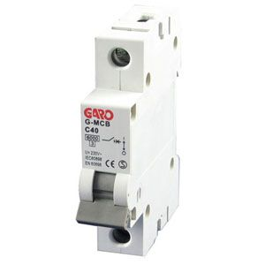 Garo 40 Amp Single Pole (Type C) MCB
